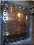 TA0339 : Beverley Minster: memorial (25) by Basher Eyre