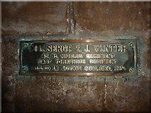 TA0339 : Beverley Minster: memorial (26) by Basher Eyre