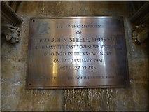 TA0339 : Beverley Minster: memorial (32) by Basher Eyre