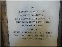 TA0339 : Beverley Minster: memorial (38) by Basher Eyre