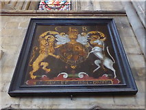 TA0339 : Beverley Minster: coat of arms by Basher Eyre