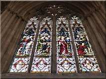 TA0339 : Beverley Minster: stained glass window (III) by Basher Eyre