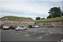 NT9953 : Parking by the ramparts by Bill Harrison