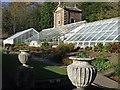 NZ0384 : The Owl House & greenhouses, Walled Garden, Wallington : Week 46