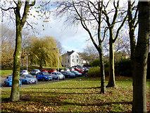 SO9496 : Parking area near Bilston centre, Wolverhampton by Roger  Kidd