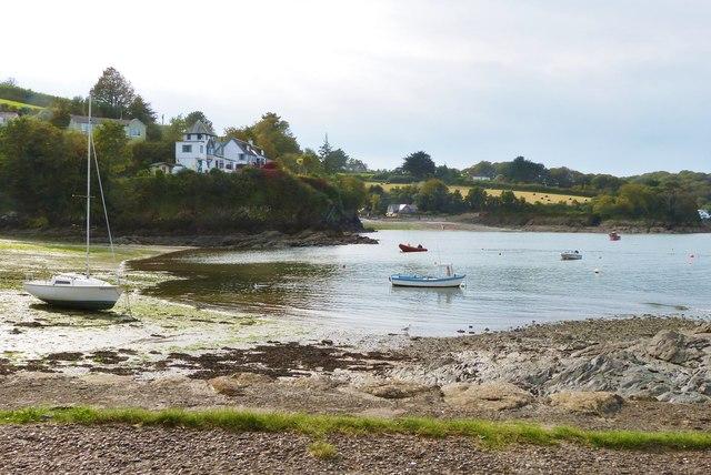 Gillan Cove  near Manaccan Cornwall