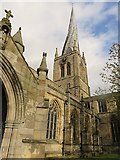 SK3871 : St Mary and All Saints, Chesterfield by Paul Harrop
