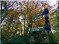 SK3582 : Graves park signage by Graham Hogg