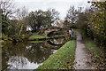 SJ8936 : Trent & Mersey Canal, Bridge 100 (Turnover Bridge) by Brian Deegan