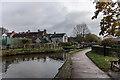 SJ9033 : Trent & Mersey Canal Lock 27, Bridge 93, Stone by Brian Deegan