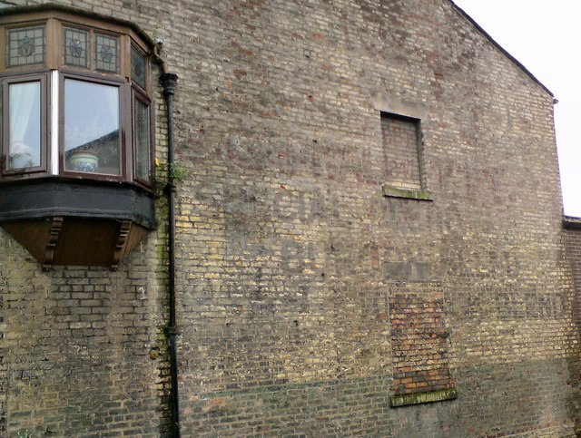 Faded ghost sign