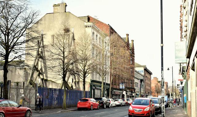 Nos 16-24 Donegall Street, Belfast (November 2017)