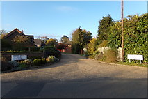 TM3569 : Brooke Drive, Sibton by Adrian Cable
