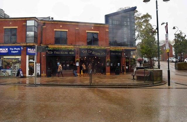 The Up Steps Inn (1), 17-23 High Street, Oldham
