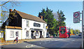 TQ0277 : The Queens Arms, London Road, Colnbrook by Des Blenkinsopp