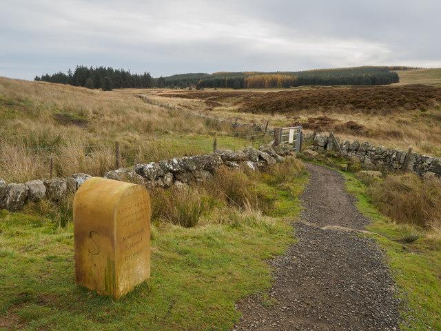 Ancient parish boundary