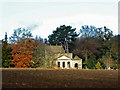 SP6836 : Stowe Landscape Gardens - Temple of Friendship by Chris Allen