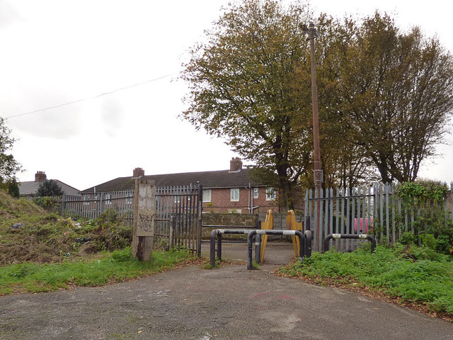 Access from NCN62 to Altham Road