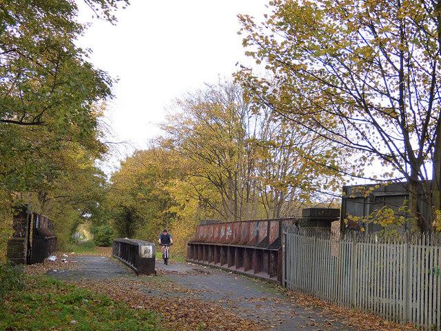 Former railway bridge, Norris Green