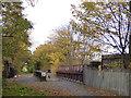 SJ3894 : Former railway bridge, Norris Green by Stephen Craven