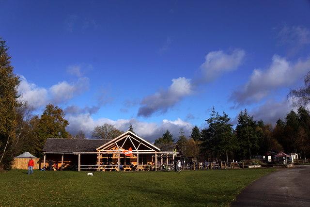Cafe at Alice Holt Forest