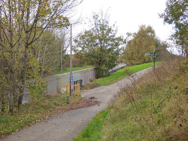 Exit to Blackthorne Road