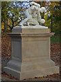 SP6736 : Stowe Landscape Gardens - Roman Wrestlers by Chris Allen