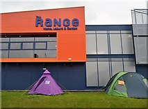 SX5054 : The Range, Sugar Mills Retail Park by N Chadwick