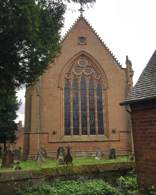 East end of the Church of St Mary the Virgin, Temple Balsall