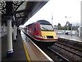 NO8686 : Virgin Train bound for London Kings Cross by Stanley Howe