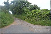 SX5349 : Track off Wembury Rd by N Chadwick