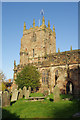 SJ5658 : Bunbury Church by Stephen McKay