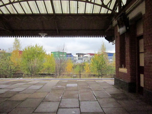Tyseley Station and View