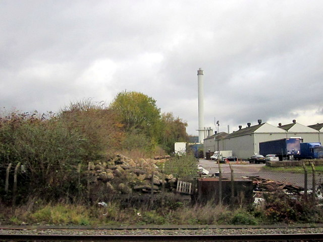 Derelict Land and Factory Buildings Tyseley (2)