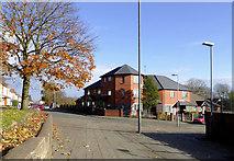 SO9596 : Modern housing by Fraser Street in Bilston, Wolverhampton by Roger  Kidd