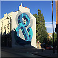 TQ3370 : Mural, Church Road, Crystal Palace by Robin Stott
