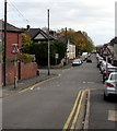 ST3087 : From one-way to two-way, Capel Crescent, Newport by Jaggery