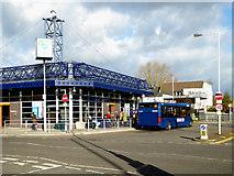 SO9596 : Bilston Bus Station, Wolverhampton by Roger  Kidd