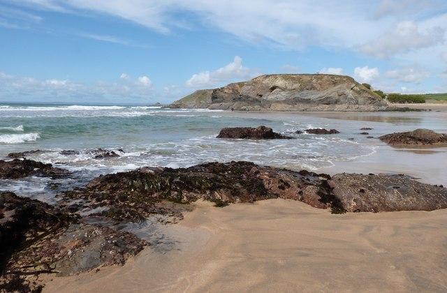 Beach at Jangye-Ryn (Dollar Cove)