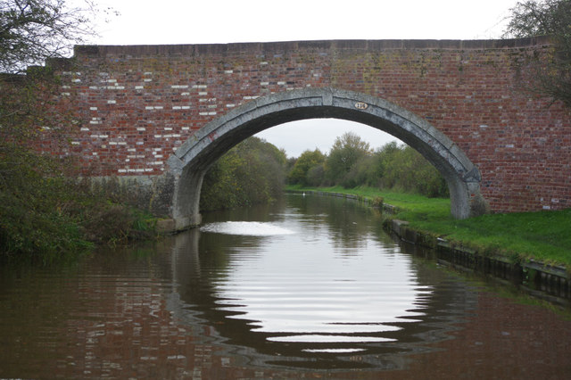 Nixon's Bridge, Shropshire Union Canal