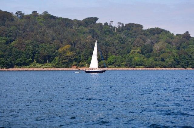 Boat off Redding Point