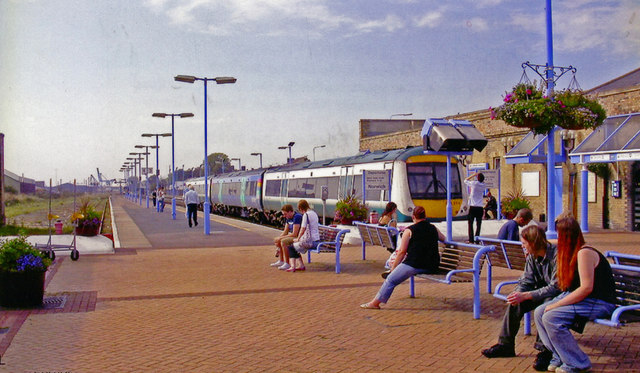 Lowestoft (Central) station, 2006