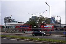 TQ3979 : North Greenwich Tube and Bus Station by Mike Pennington