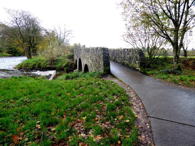 Cranny footbridge, Cranny