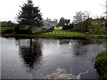 H4772 : Camowen River at Cranny, Mullaghmore and Campsie by Kenneth  Allen