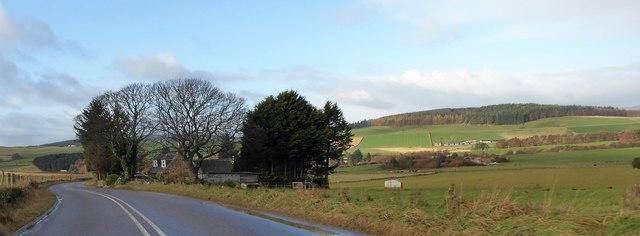 Quair Cottage on the Slug Road (A857)