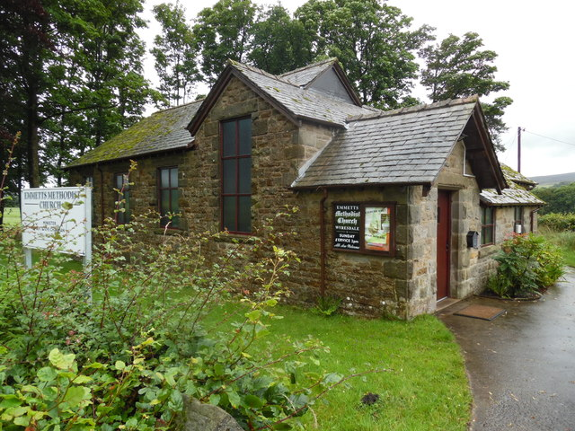 Emmetts Methodist Church, Lancs