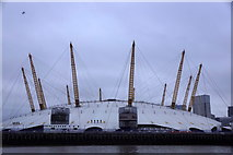 TQ3980 : O2 Arena, North Greenwich, from the river by Mike Pennington