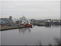 NT2677 : The Port of Leith by M J Richardson