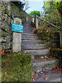 "SD6178 : Kirkby Lonsdale, ""The Radical Steps"" by David Dixon"